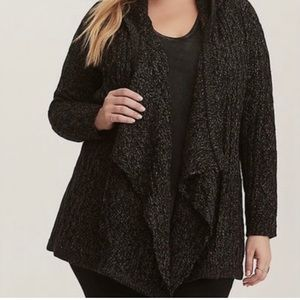Torrid hooded sweater Beautiful sweater size 3 which is a size 22/24